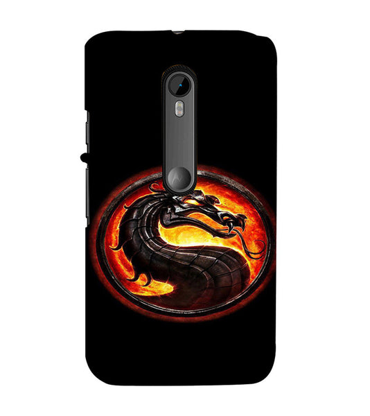 EPICCASE Dragon Back Case Cover for Moto X Force