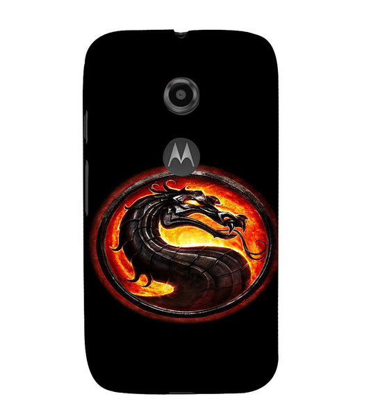 EPICCASE Dragon Back Case Cover for Moto E2