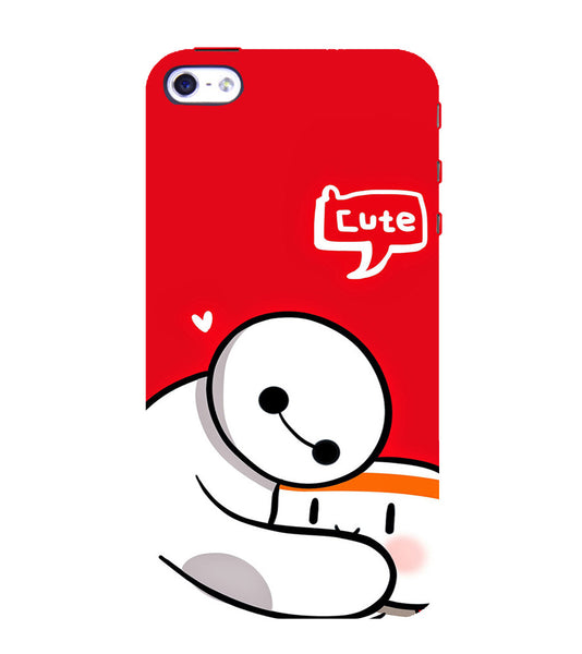 EPICCASE Cute Teddy cover Back Case Cover for Apple iPhone 5/5s