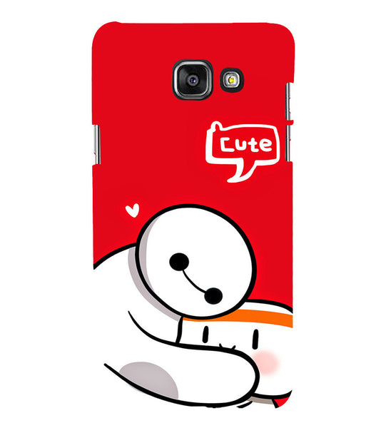 EPICCASE Cute Teddy cover Back Case Cover for Samsung A5 2016