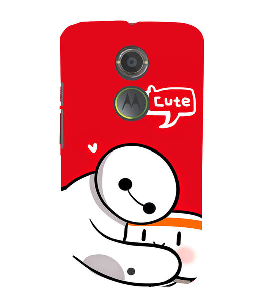 EPICCASE Cute Teddy cover Back Case Cover for Moto X2