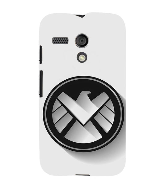 EPICCASE Agents of Shield Back Case Cover for Moto G