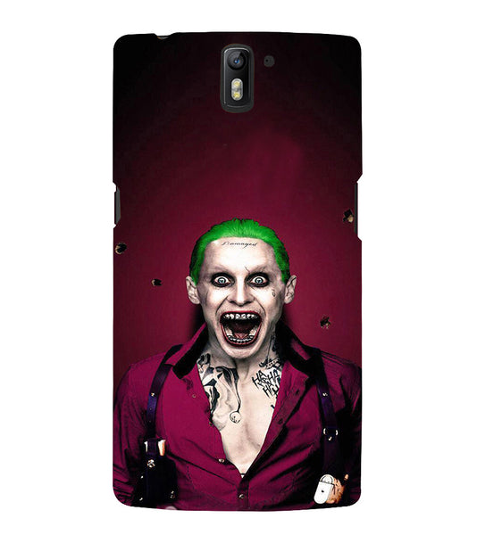 EPICCASE Scary Man with Greem hair Back Case Cover for Oneplus One