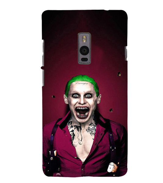EPICCASE Scary Man with Greem hair Back Case Cover for Oneplus Two
