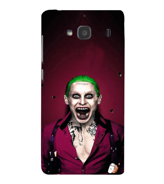 EPICCASE Scary Man with Greem hair Back Case Cover for Xiaomi Redmi 2s