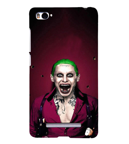 EPICCASE Scary Man with Greem hair Back Case Cover for Xiaomi Redmi Mi4i