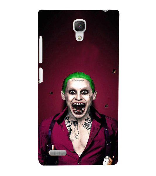 EPICCASE Scary Man with Greem hair Back Case Cover for Xiaomi Redmi Note prime
