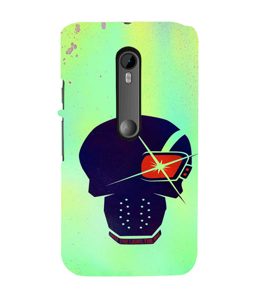 EPICCASE life Quote Back Case Cover for Moto X Force