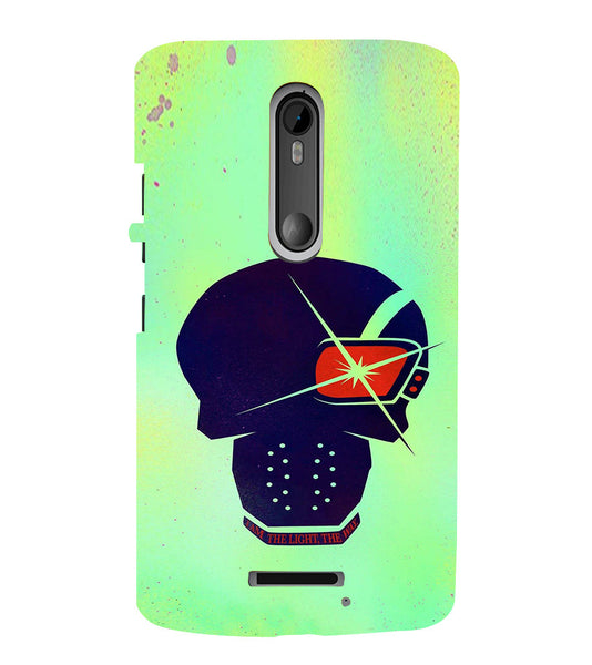 EPICCASE life Quote Back Case Cover for Moto X3