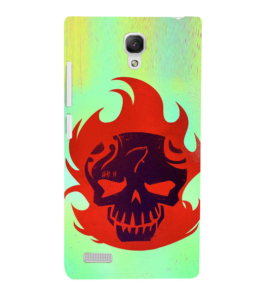 EPICCASE Burning Skull Back Case Cover for Xiaomi Redmi Note