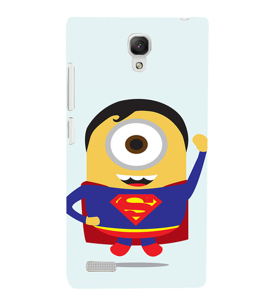 EPICCASE Superman Minion Back Case Cover for Xiaomi Redmi Note prime