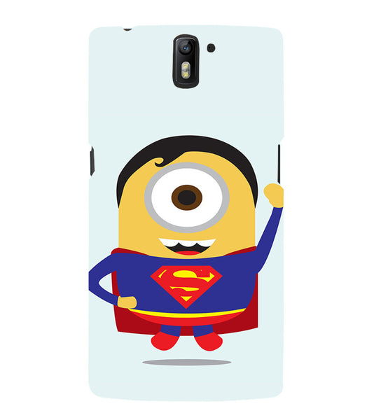 EPICCASE Superman Minion Back Case Cover for Oneplus One