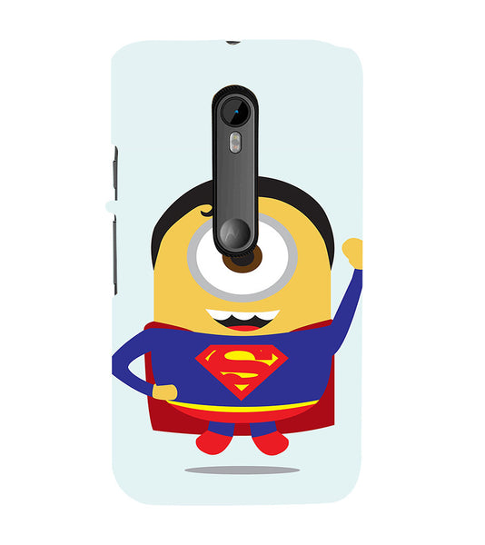 EPICCASE Superman Minion Back Case Cover for Moto X Play