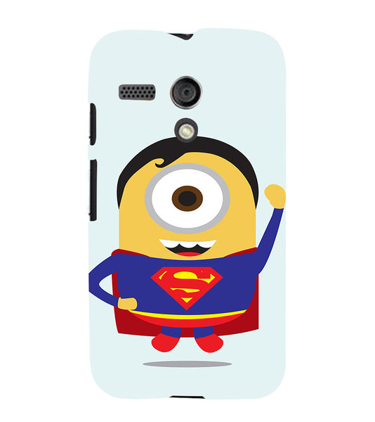 EPICCASE Superman Minion Back Case Cover for Moto G