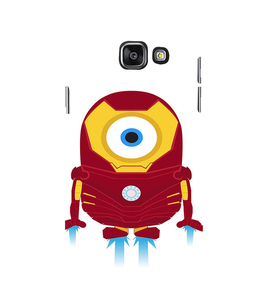EPICCASE Ironman Minion Back Case Cover for Samsung A7 2016