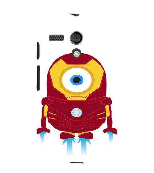 EPICCASE Ironman Minion Back Case Cover for Moto G