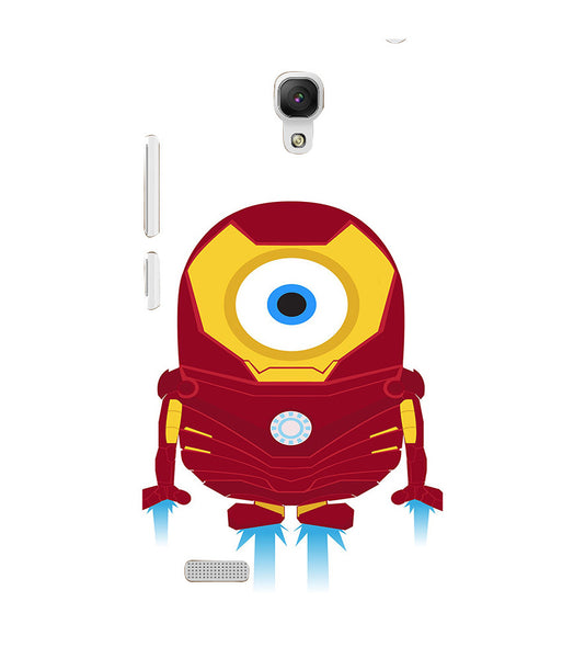 EPICCASE Ironman Minion Back Case Cover for Xiaomi Redmi Note prime