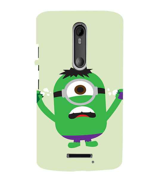 EPICCASE Hulk Minion Back Case Cover for Moto X3