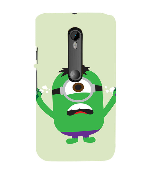 EPICCASE Hulk Minion Back Case Cover for Moto X Play