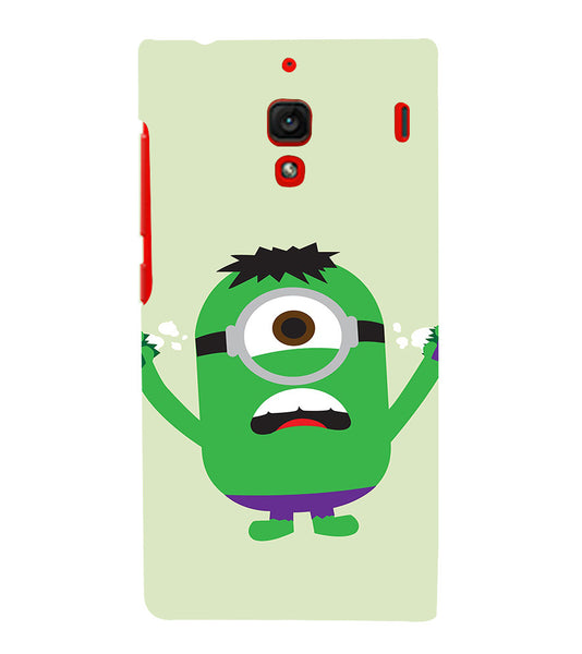 EPICCASE Hulk Minion Back Case Cover for Xiaomi Redmi 1s