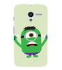 EPICCASE Hulk Minion Back Case Cover for Moto X