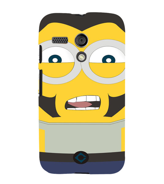 EPICCASE Movie Star Minion Back Case Cover for Moto G