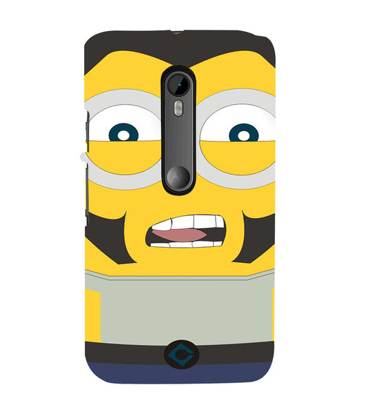 EPICCASE Movie Star Minion Back Case Cover for Moto X Play