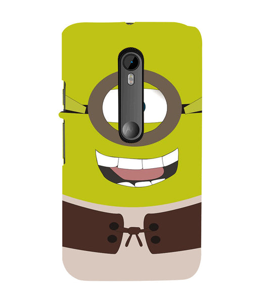 EPICCASE Green Minion Back Case Cover for Moto X Style