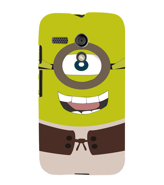 EPICCASE Green Minion Back Case Cover for Moto G