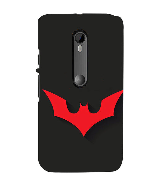 EPICCASE Batman Logo Back Case Cover for Moto X Play