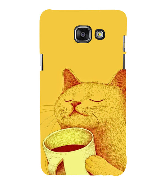 EPICCASE peaceful cat Back Case Cover for Samsung A5 2016