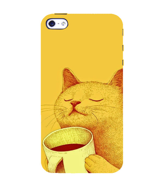 EPICCASE peaceful cat Back Case Cover for Apple iPhone 4