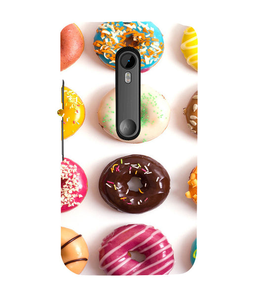 EPICCASE doughnut Back Case Cover for Moto X Force