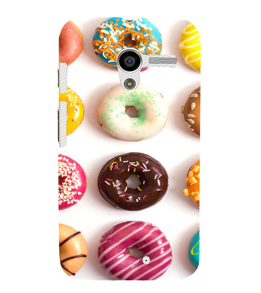 EPICCASE doughnut Back Case Cover for Moto X