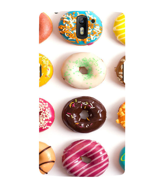 EPICCASE doughnut Back Case Cover for Oneplus One