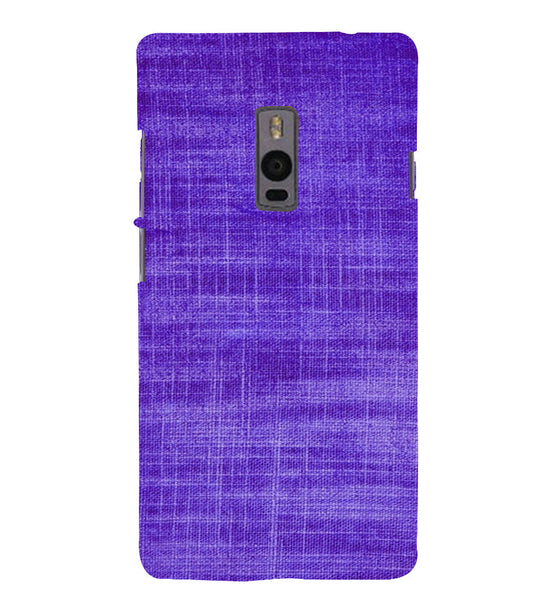 EPICCASE Viloet textured Back Case Cover for Oneplus Two