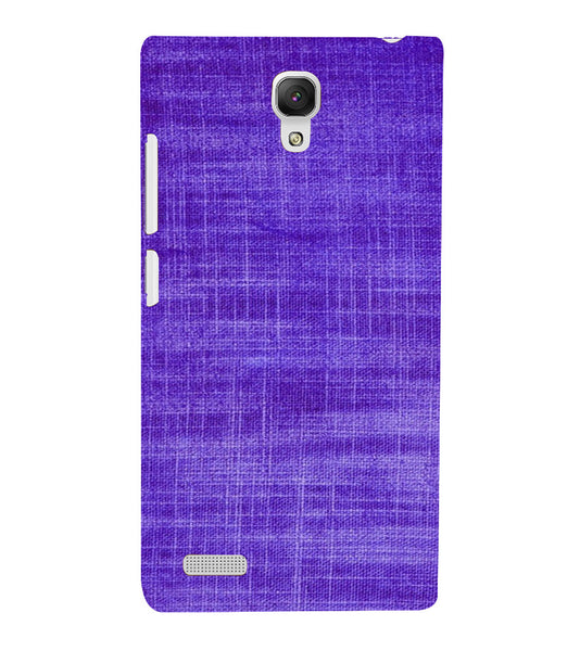EPICCASE Viloet textured Back Case Cover for Xiaomi Redmi Note prime