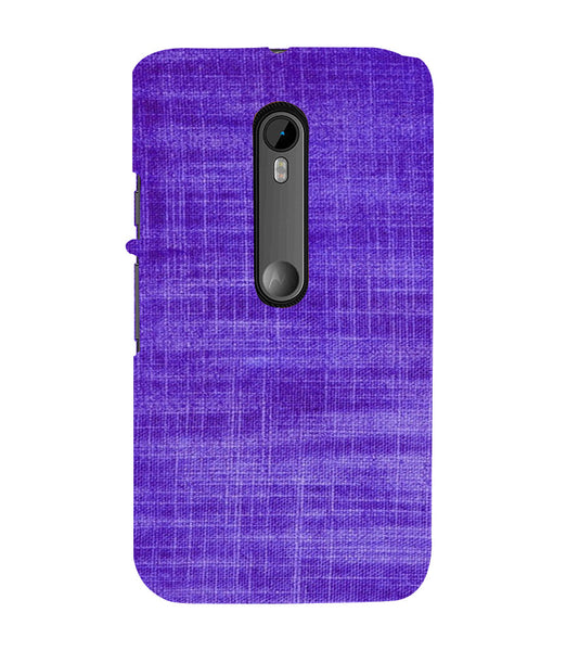 EPICCASE Viloet textured Back Case Cover for Moto X Style