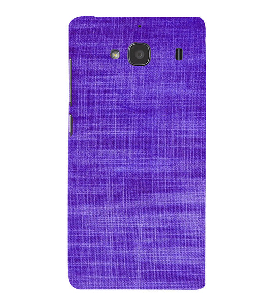 EPICCASE Viloet textured Back Case Cover for Xiaomi Redmi 2s