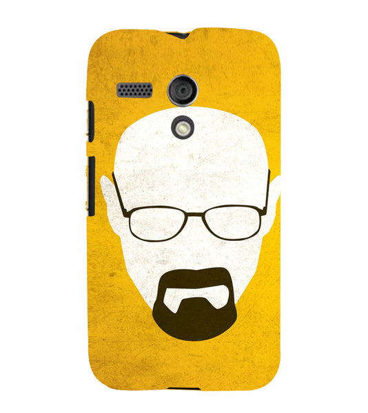 EPICCASE Breaking bad Back Case Cover for Moto G