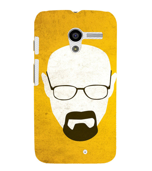 EPICCASE Breaking bad Back Case Cover for Moto X