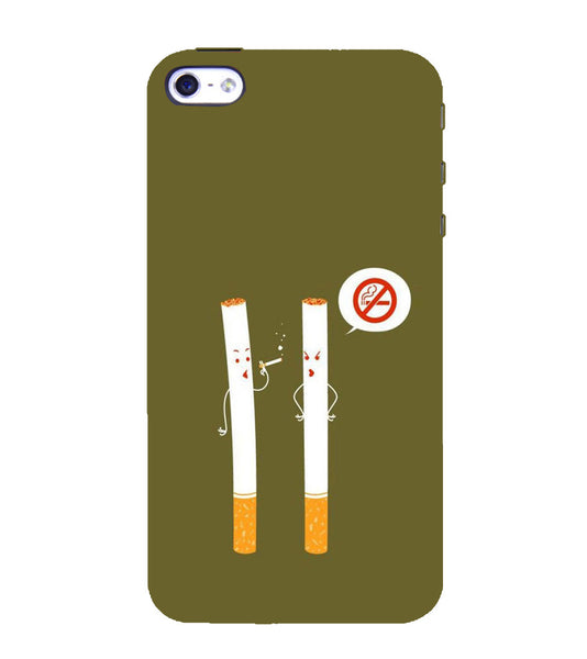 EPICCASE No Smoking  Back Case Cover for Apple iPhone 4