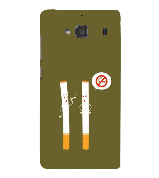 EPICCASE No Smoking  Back Case Cover for Xiaomi Redmi 2s
