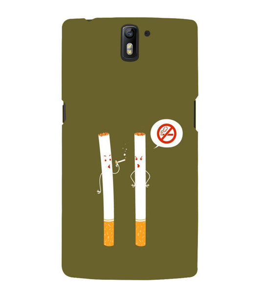 EPICCASE No Smoking  Back Case Cover for Oneplus One