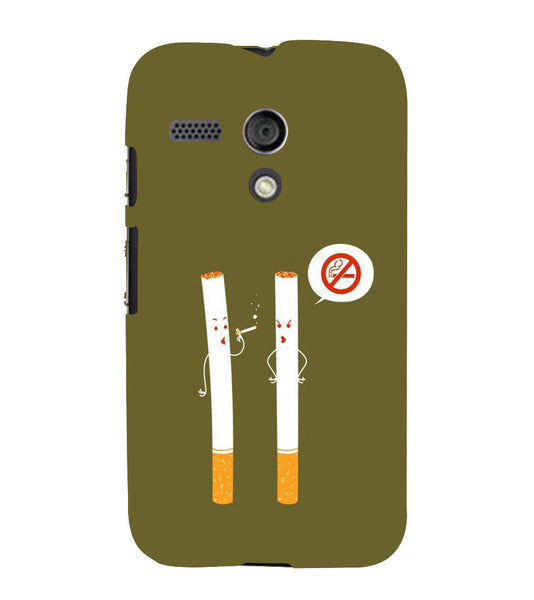 EPICCASE No Smoking  Back Case Cover for Moto G