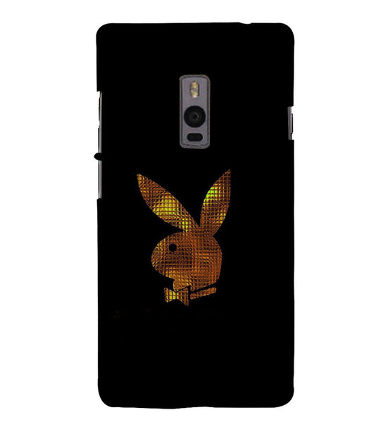 EPICCASE Gold Play Boy Back Case Cover for Oneplus Two