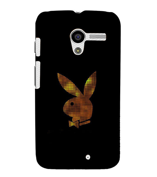 EPICCASE Gold Play Boy Back Case Cover for Moto X