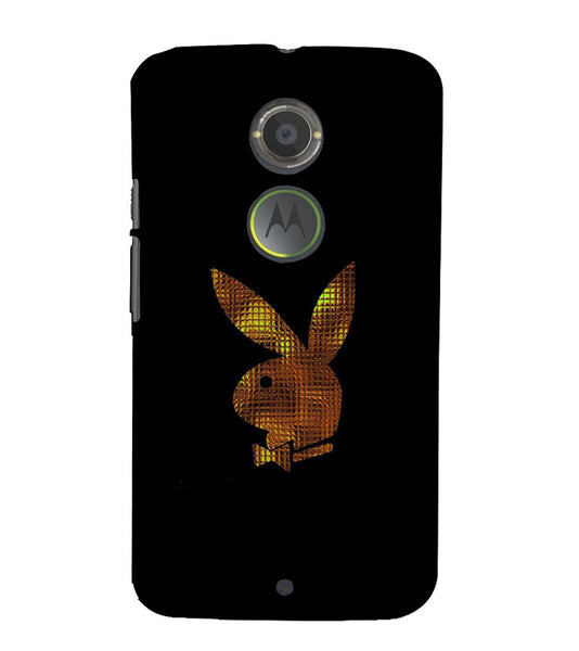 EPICCASE Gold Play Boy Back Case Cover for Moto X2