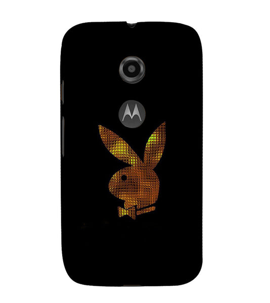 EPICCASE Gold Play Boy Back Case Cover for Moto E2