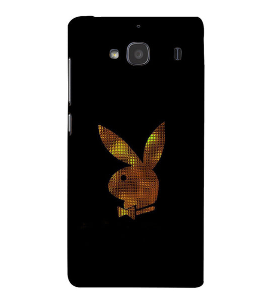 EPICCASE Gold Play Boy Back Case Cover for Xiaomi Redmi 2s